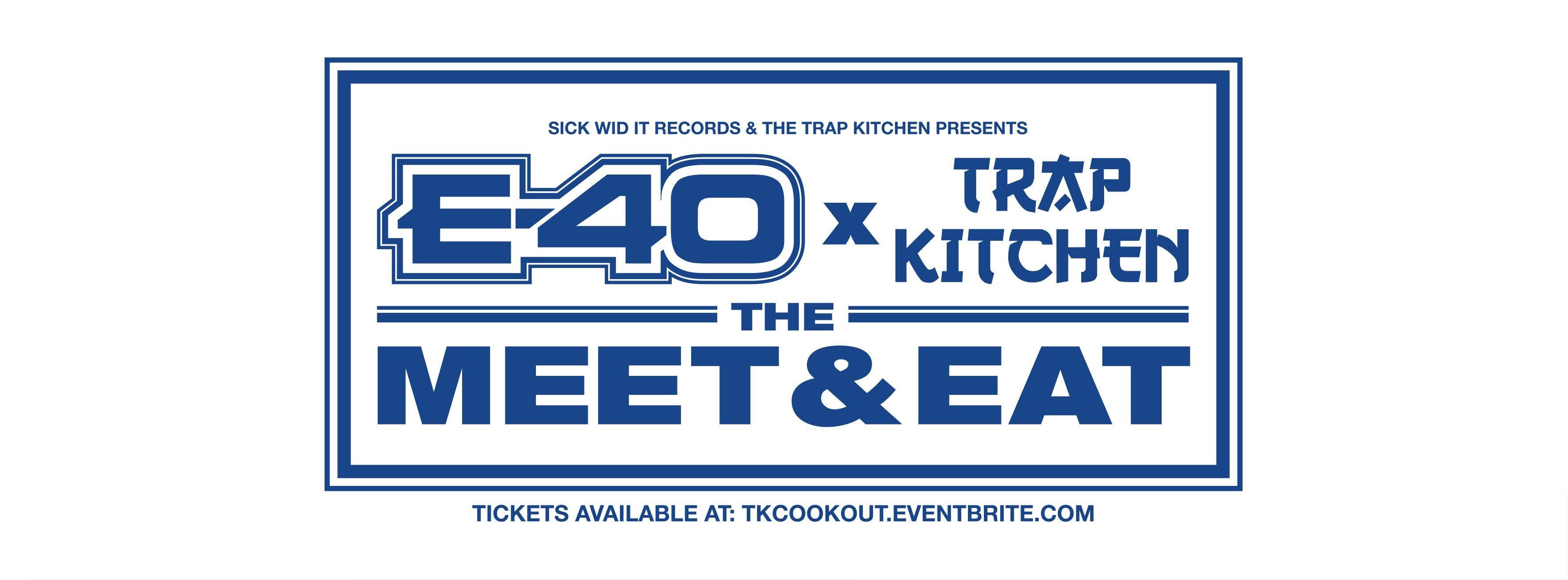 E-40 x Trap Kitchen `Meet & Eat` - Denver - 15 SEP 2018