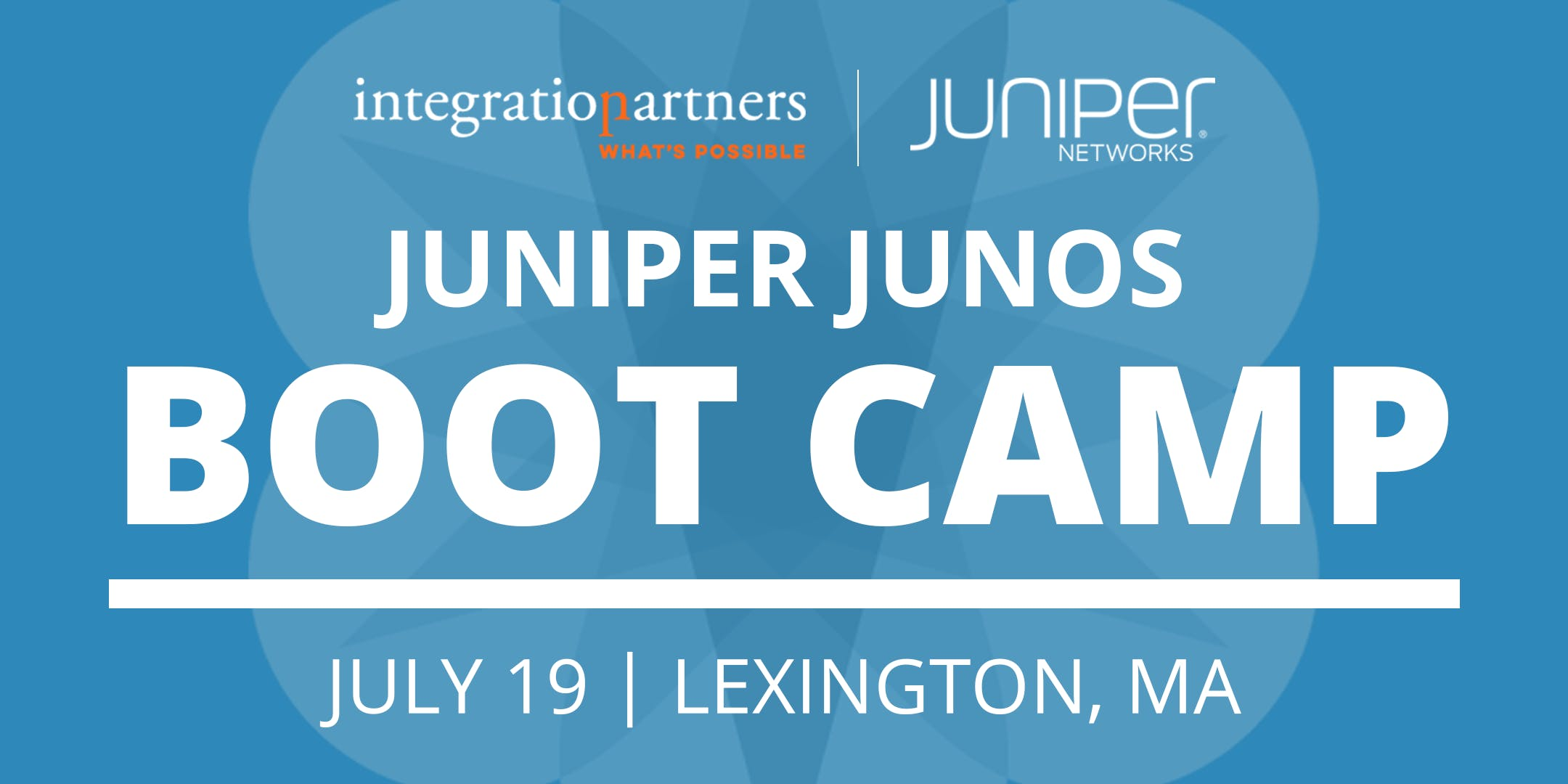 Juniper Networks JUNOS Bootcamp | Lexington,