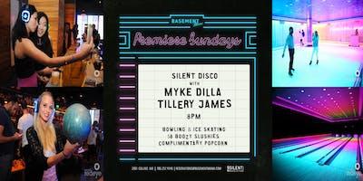 Premier Sundays Silent Disco Bowl & Skate