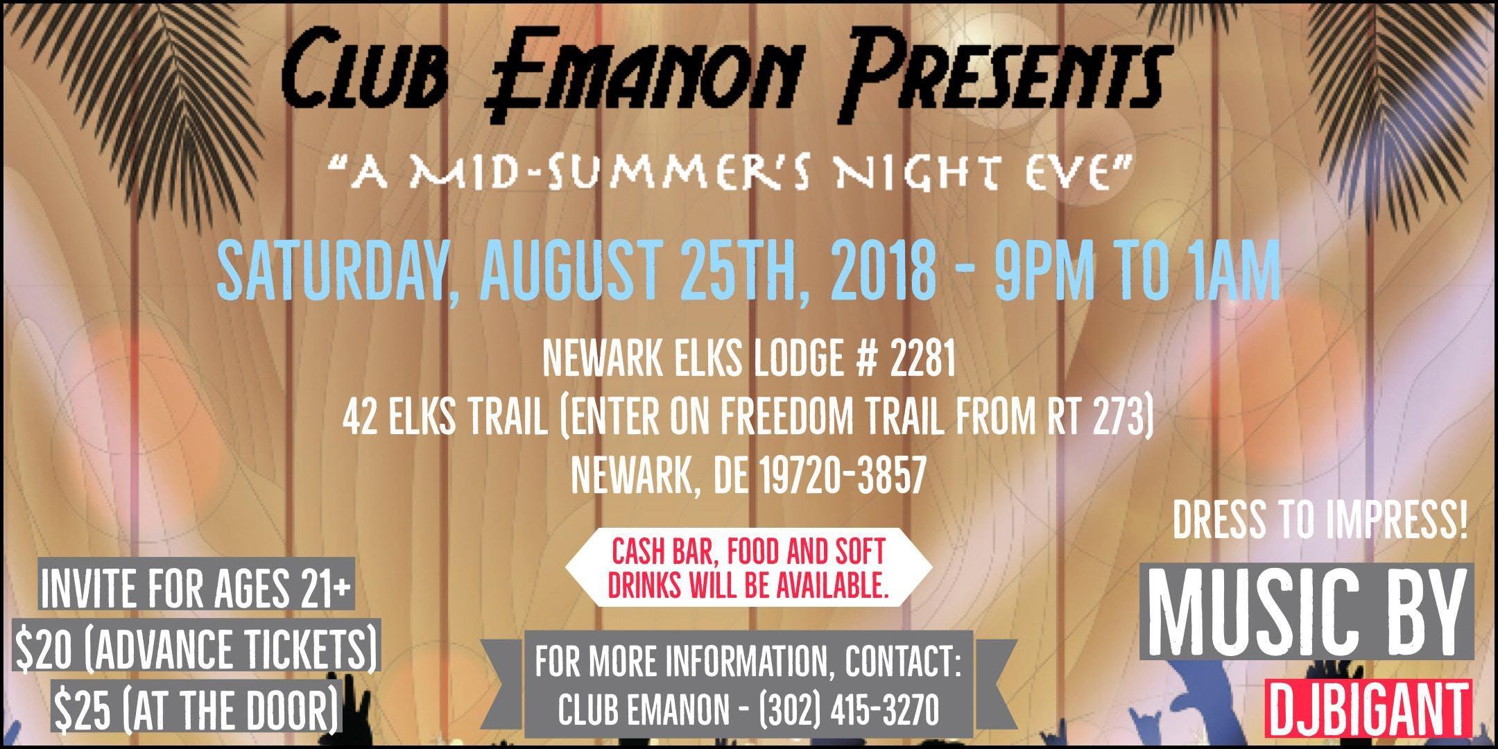 Mid-Summers Night Eve