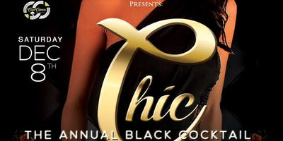The Chic Black Cocktail Event