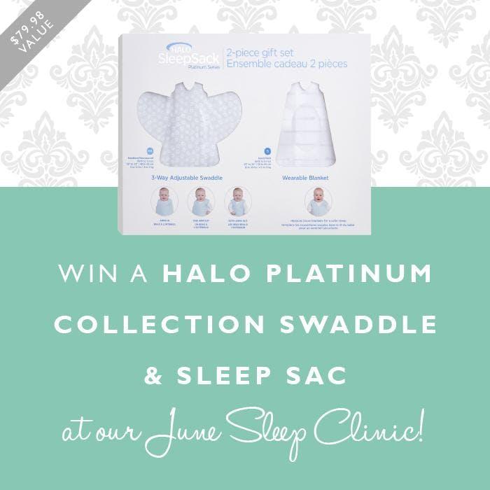 Free baby sleep clinic and Halo giveaway!