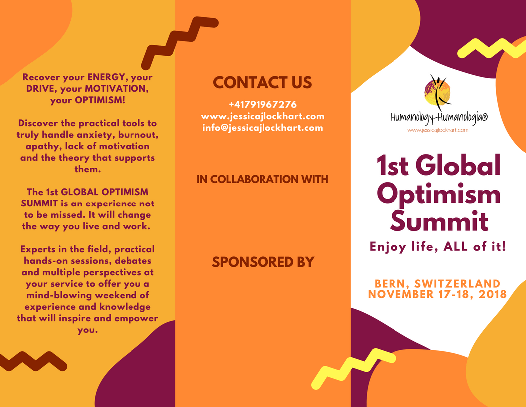 1st Global Optimism Summit (English, Español, Deutsch)