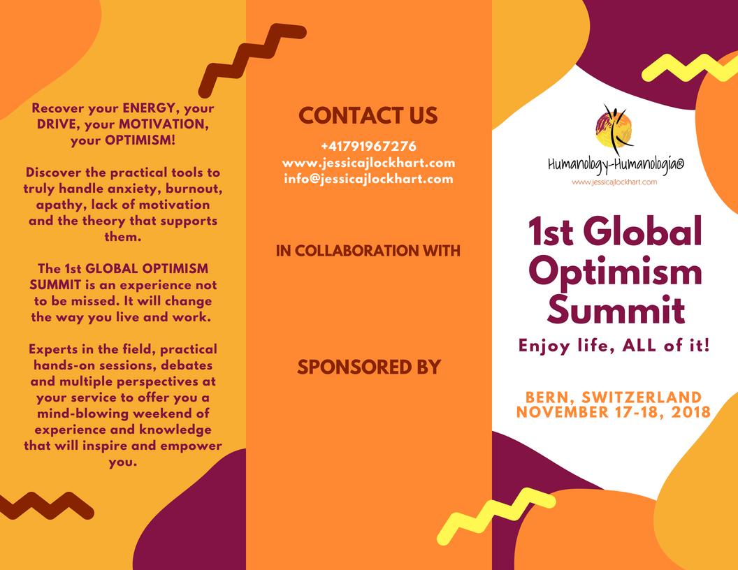 1st Global Optimism Summit (English, Español, Deutsch)