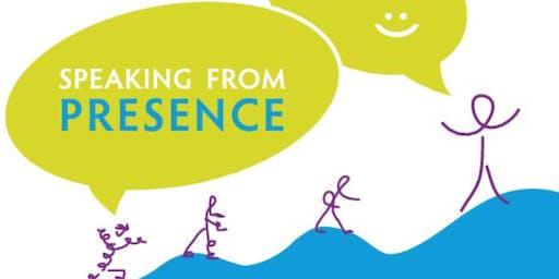Speaking from Presence - full day workshop