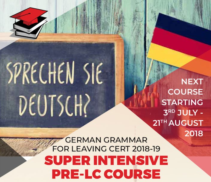 GERMAN GRAMMAR FOR LEAVING CERT 2019