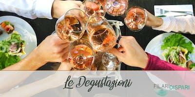 Le degustazioni dei Filari: serata di abbinamenti tra vini e piatti