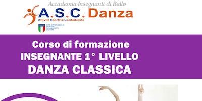 Corso Insegnanti Danza Classica