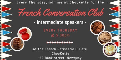 French Fun Conversation Club Newquay (Intermediate) tickets