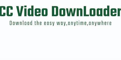 CC Video Downloader Link.