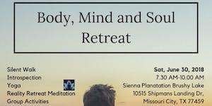 Body, Mind, & Soul Retreat - Jun 2018