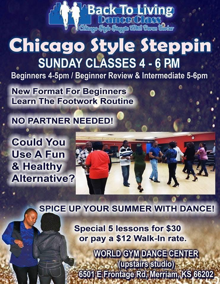 Kansas City Sunday Chicago Style Steppin Clas