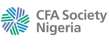 Image result for CFA Society Nigeria