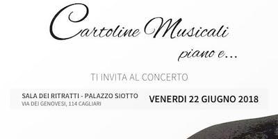Cartoline Musicali - aperitivo e concerto a palazzo Siotto
