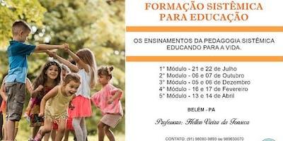 FORMAÇÃO SISTÊMICA PARA EDUCAÇÃO
