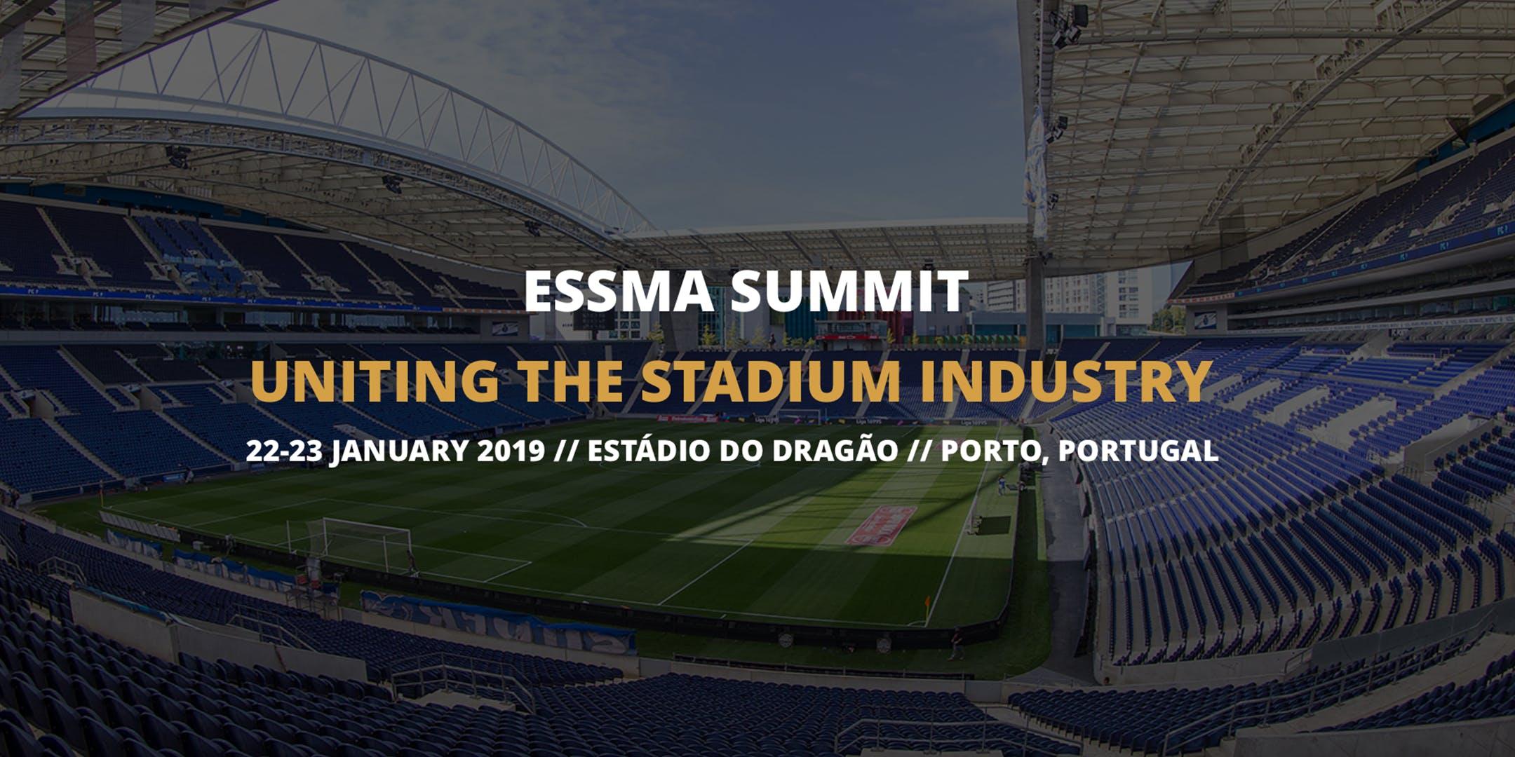ESSMA Summit 2019 - Tickets for ESSMA Stadium/Club/League/Federation Member
