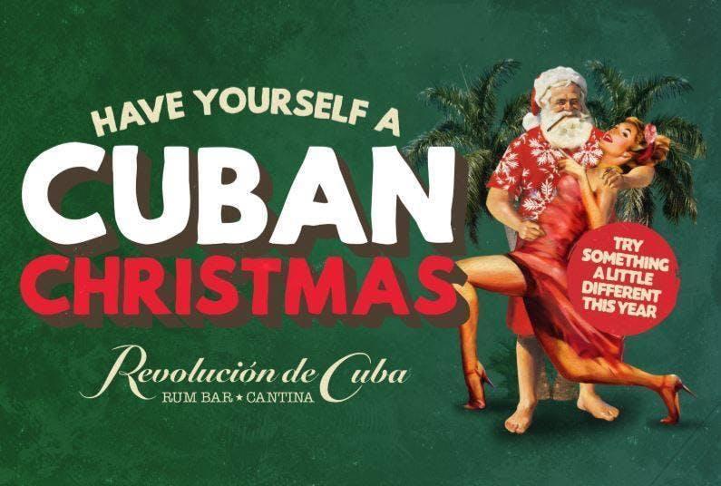 Christmas at Revolucion De Cuba