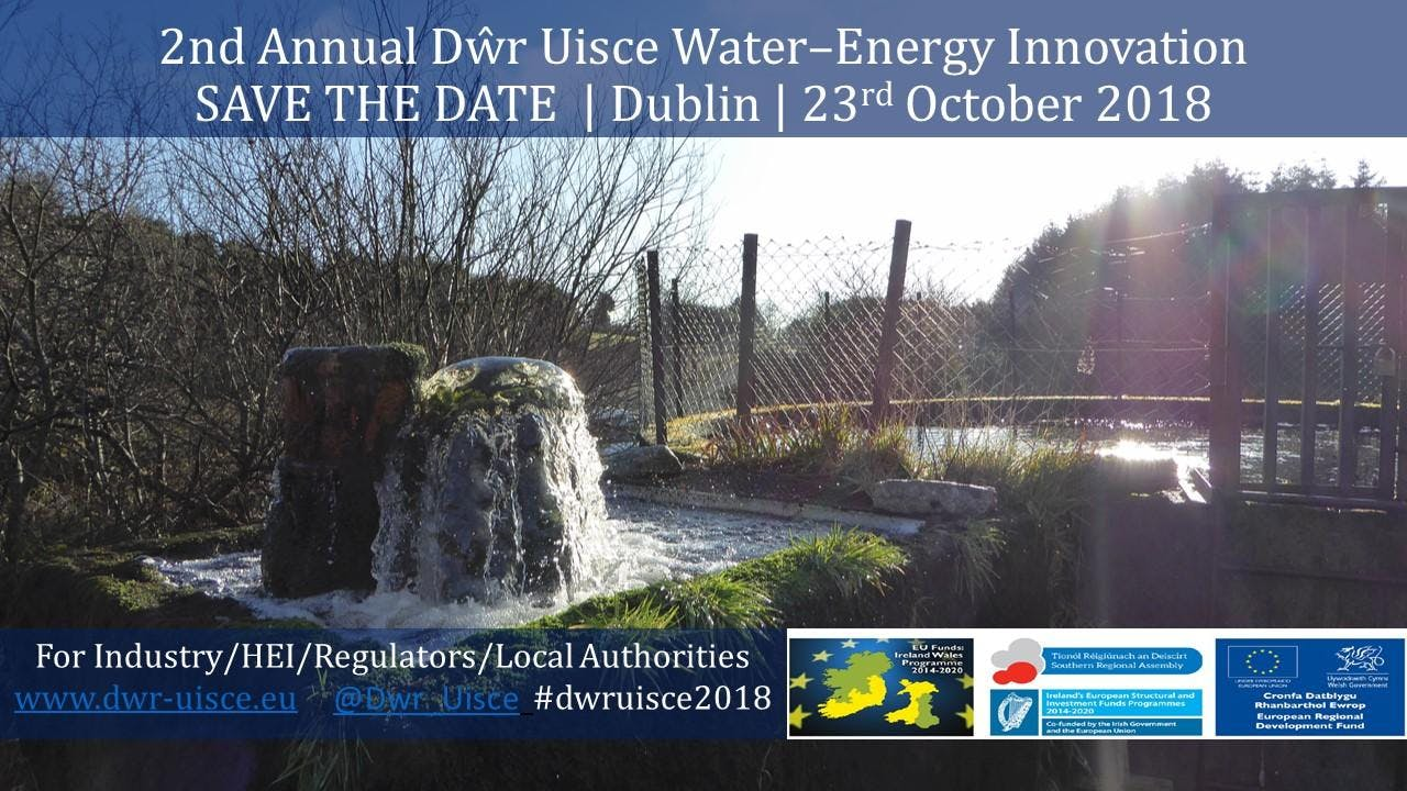 2nd Annual Dŵr Uisce Water–Energy Innovation