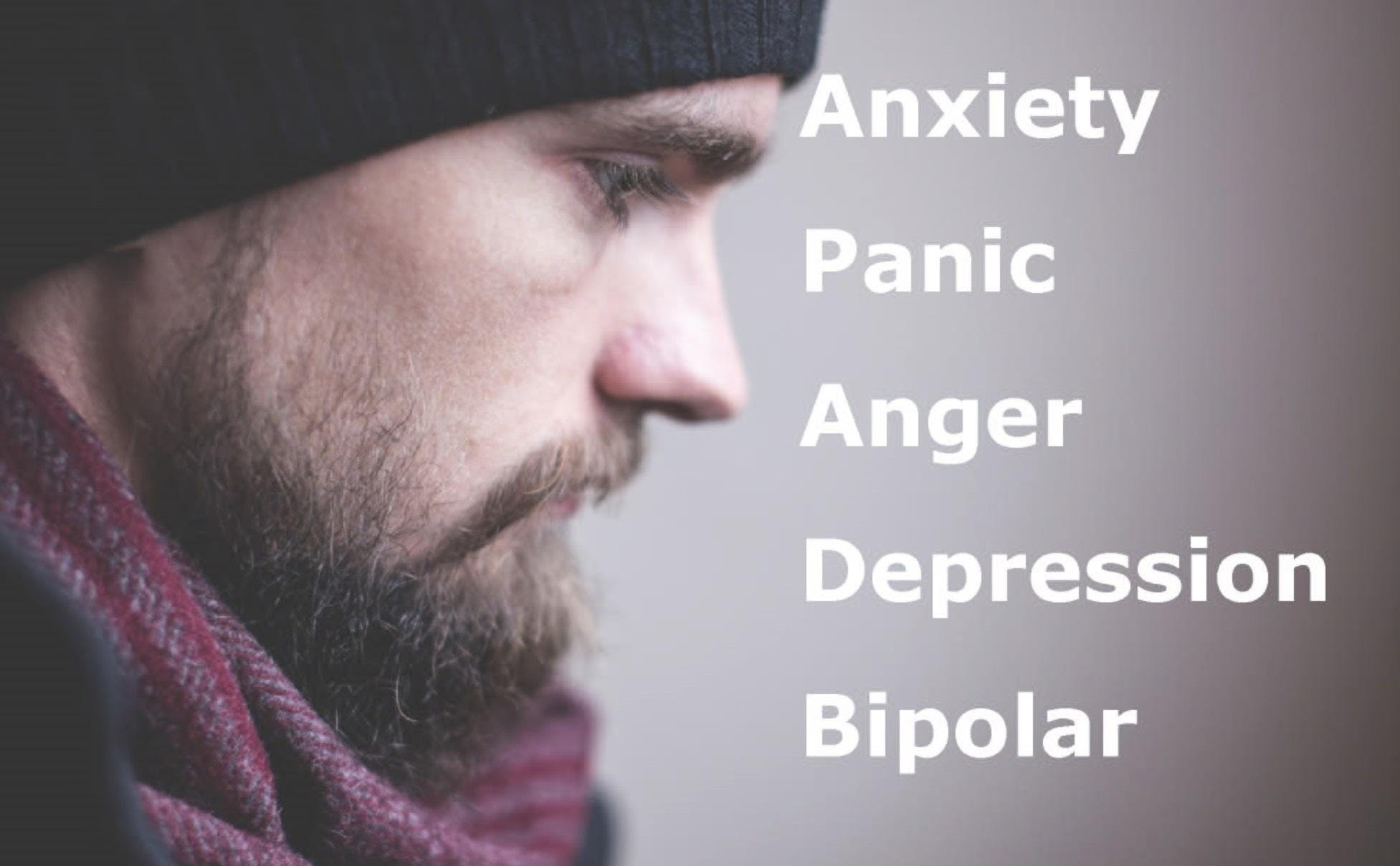 Help for Anxiety, Depression, OCD, Bipolar and Panic - Swords