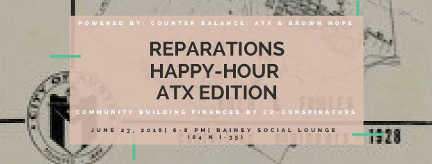 Austin Tx Reparations Happy Hour