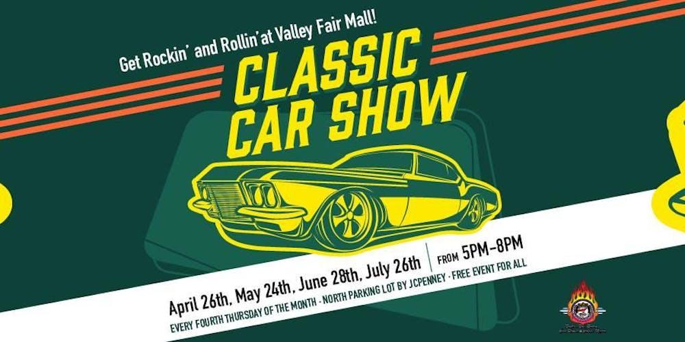Classic Car Show Tickets Multiple Dates Eventbrite - Jc hackett car show calendar