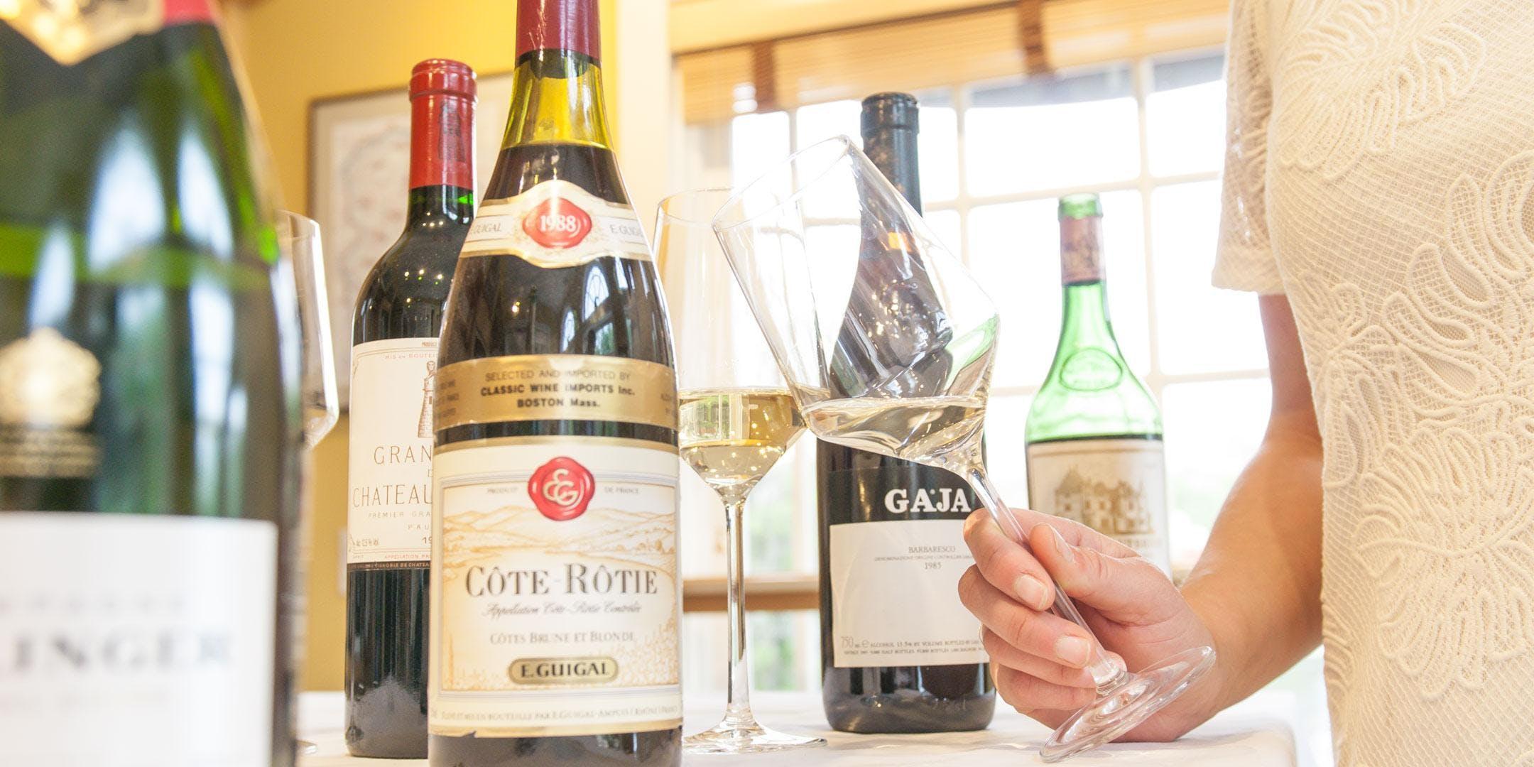 Pre-Auction Wine Tasting