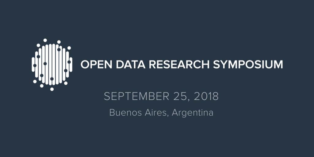 Open Data Research Symposium 2018