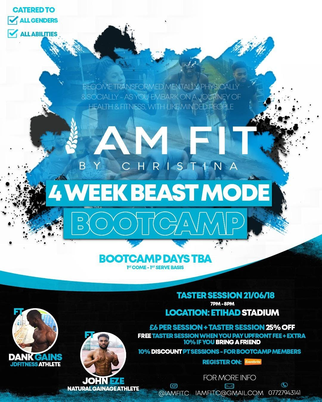 iAmfit: Beast-Mode Bootcamp (Taster Session)