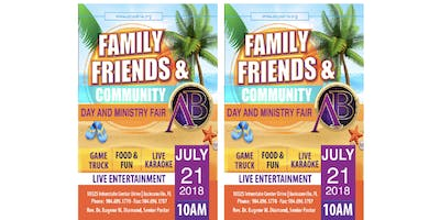 Abyssinia\u2019s (FREE)Annual Family, Friends & Community Day