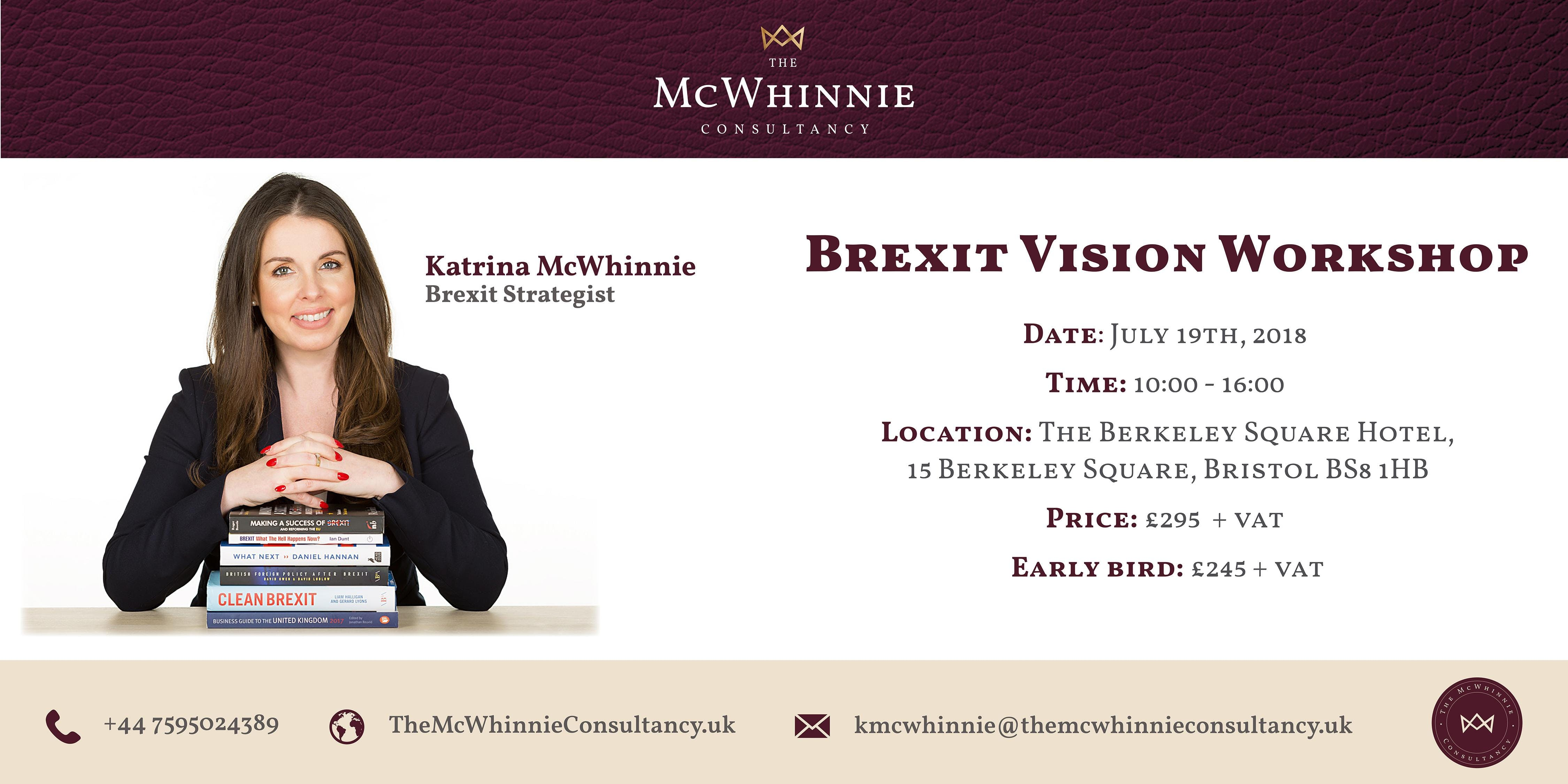 Brexit Vision Workshop - Planning Through the