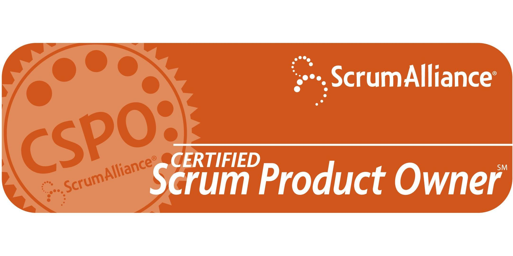 Certified Scrum Product Owner Training Cspo 16 17 August 2018