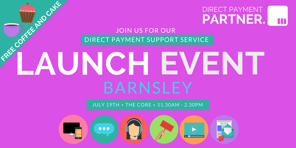Direct Payment Partner Launch - BARNSLEY