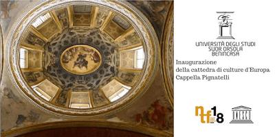 Inaugurazione della cattedra di culture d'Europa Cappella Pignatelli