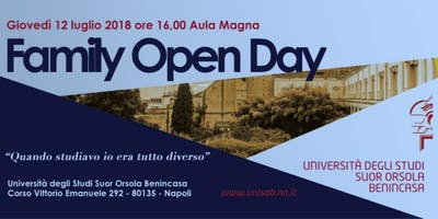 Family Open Day