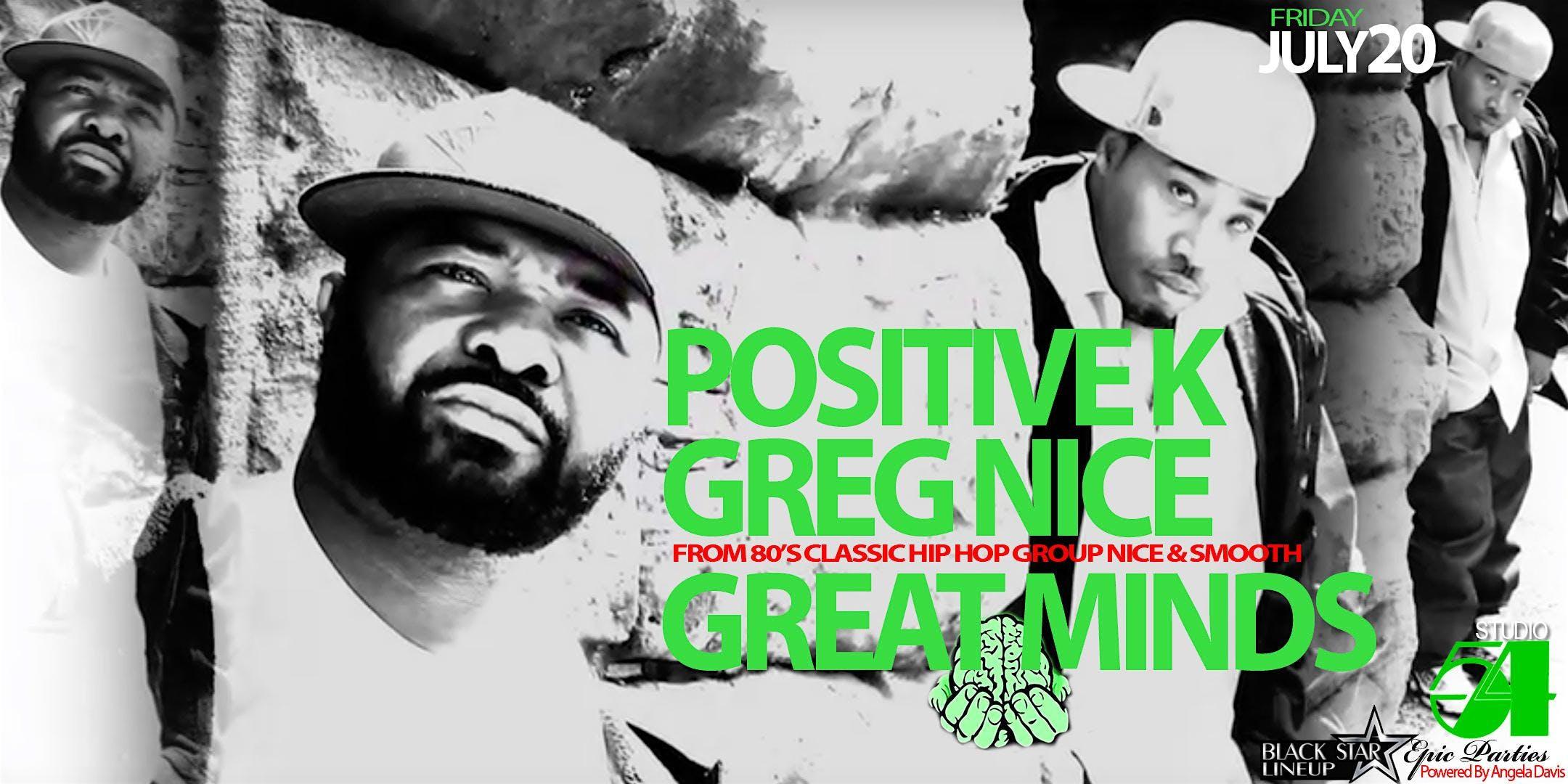 Positive K Greg Nice (Let's Take it Back to t