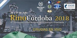 RinoCordoba 2018: IIº Simposio Internacional de...