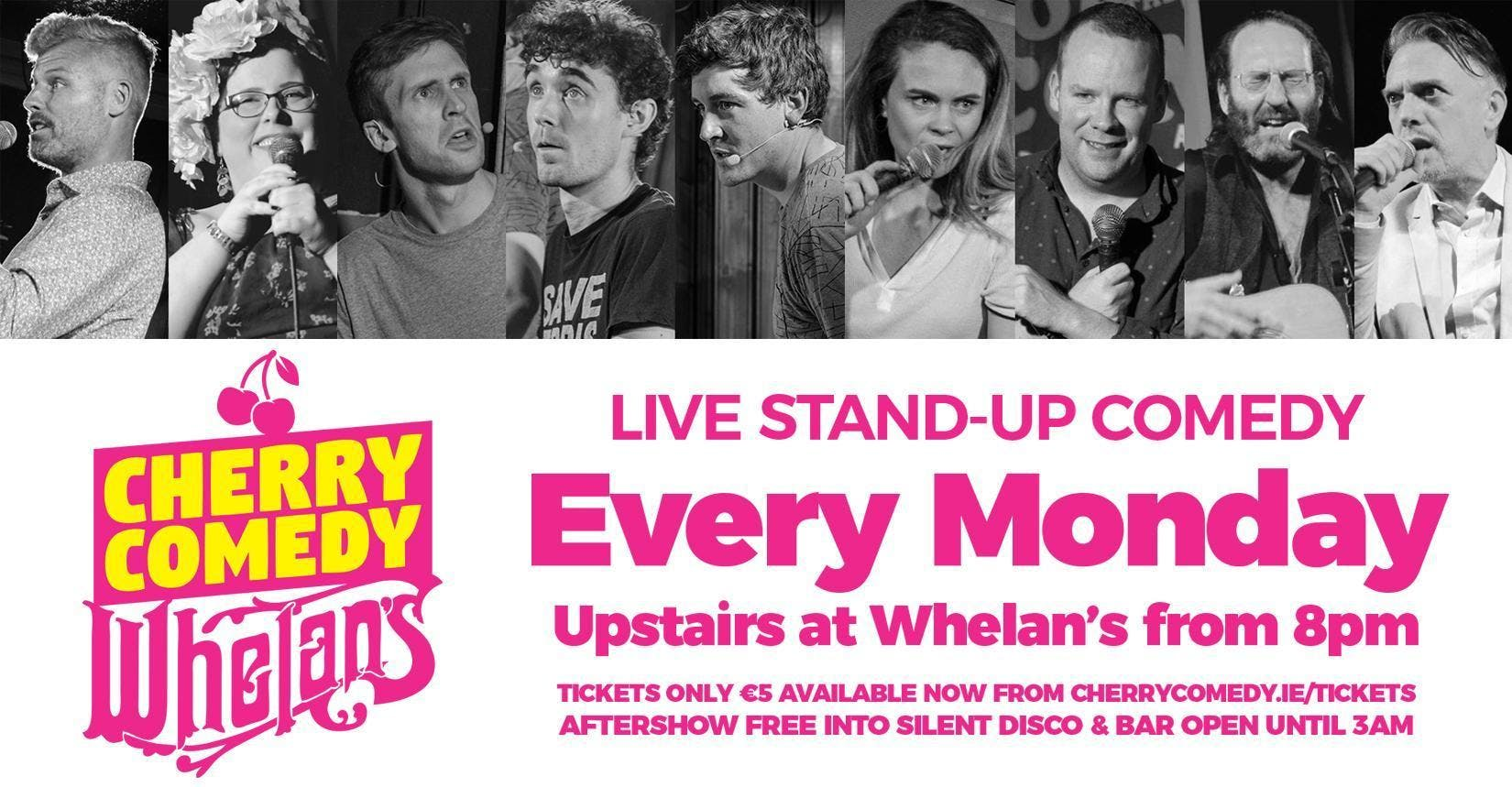Cherry Comedy at Whelans with Ronan Grace