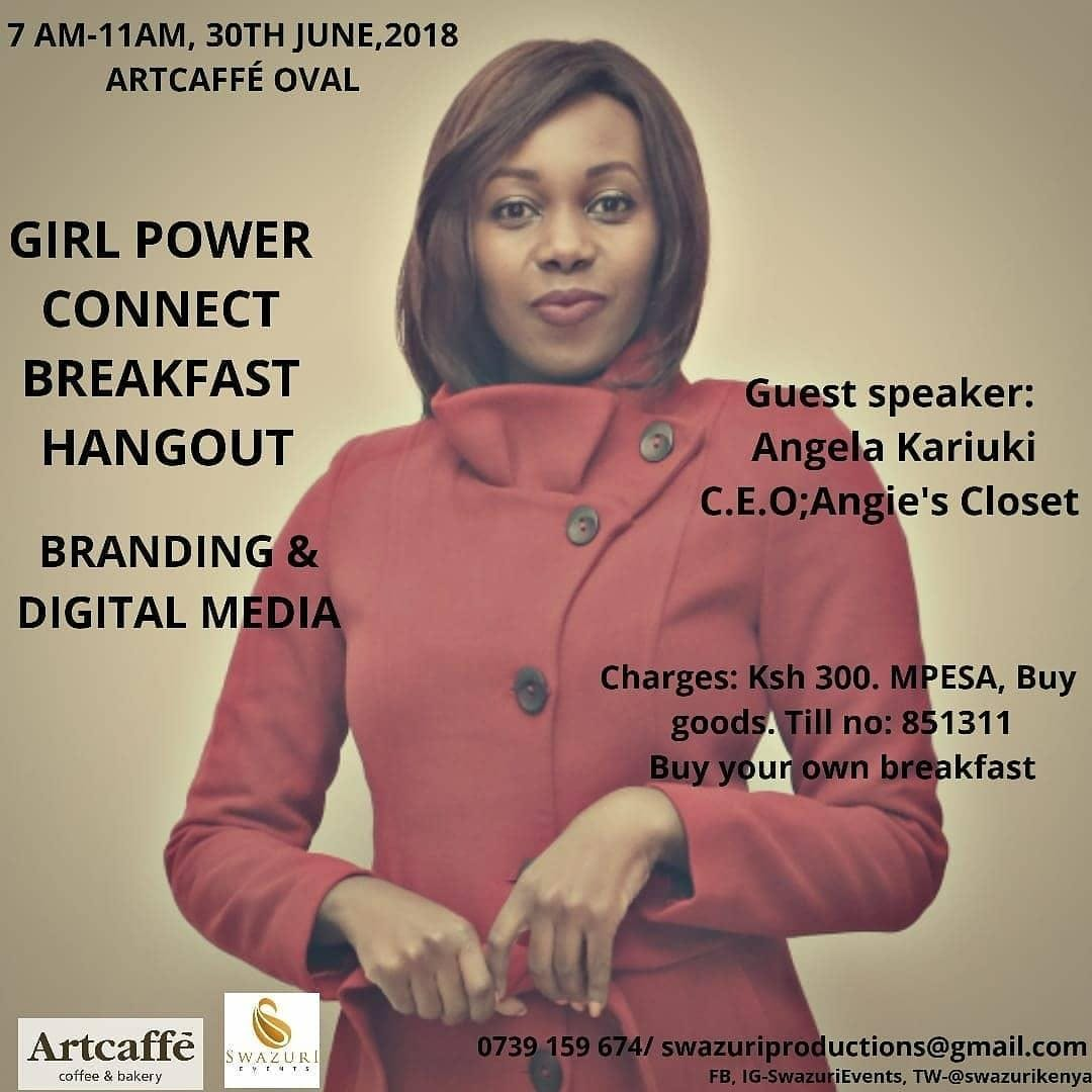 Girl Power Connect - Breakfast Hangout