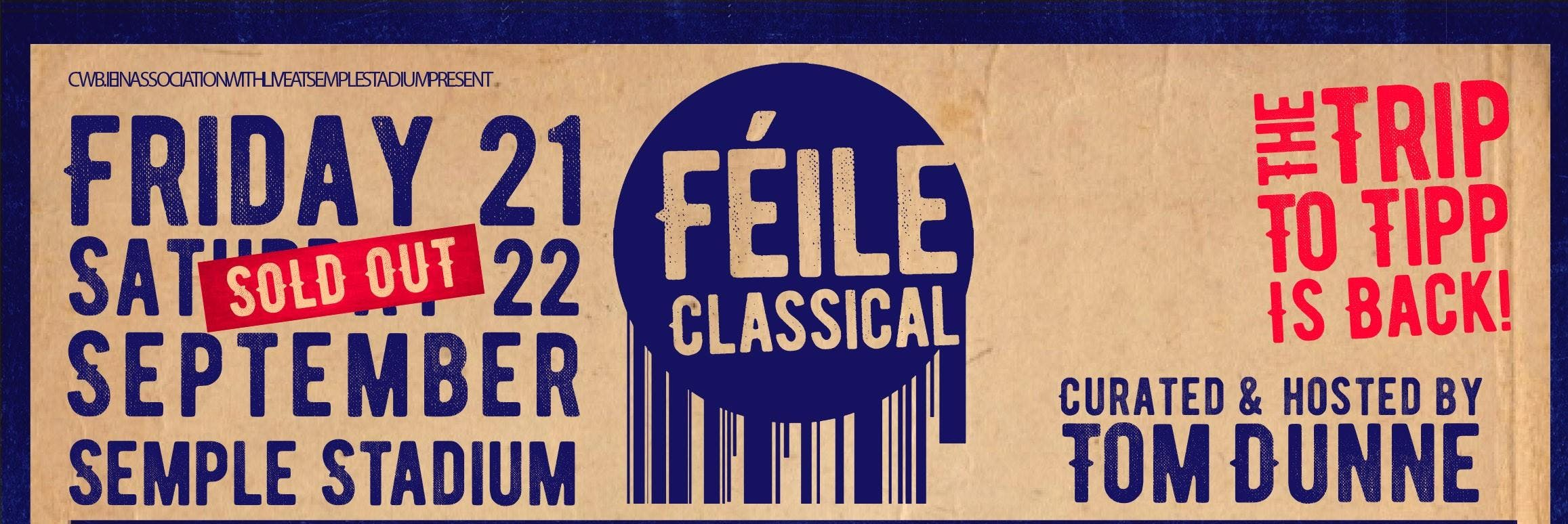 Féile Classical Return Bus Service - Saturday 22nd September