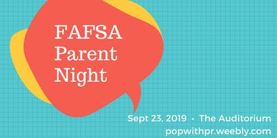 FAFSA Parent Night for EHS - Get FREE Money (Example)