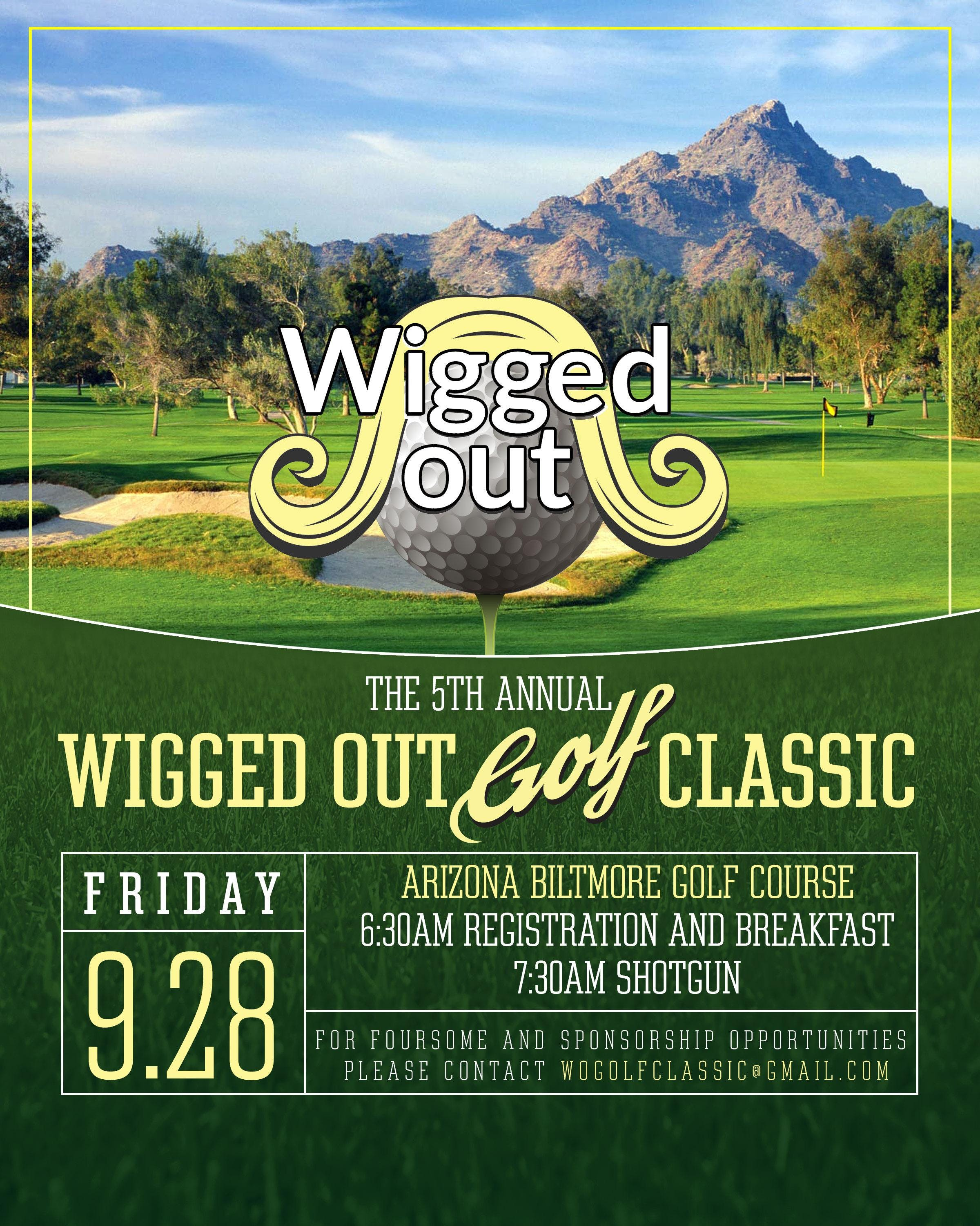 Fifth Annual Wigged Out Golf Classic
