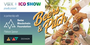Beers&Pitch - ICO pitch in the heart of Singapore