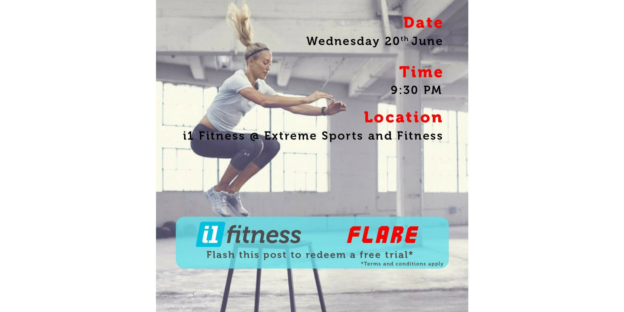 Wednesday Friends Day - FLARE (FREE Group Class)
