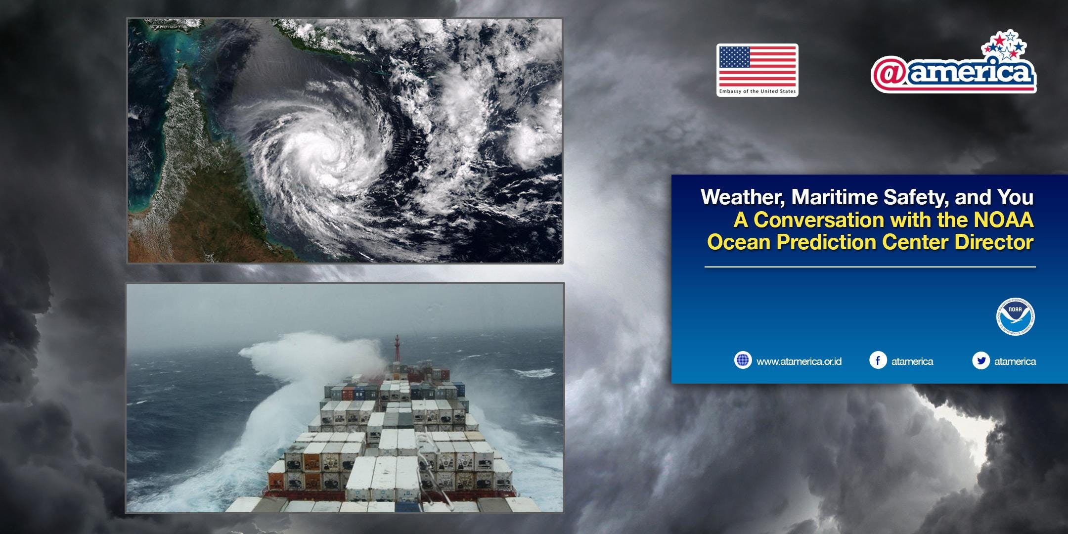 Weather Maritime Safety and You  A Conversation with the NOAA Ocean Prediction Center Director