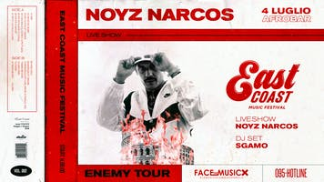 EAST COAS MUSIC FESTIVAL presents NOYZ NARCOS ENEMY TOUR