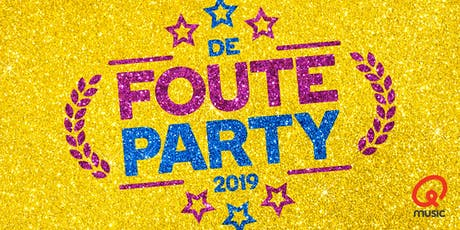 De Foute Party van Qmusic 2019 tickets