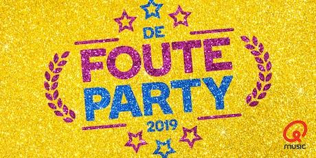 De Foute Party van Qmusic 2019 tickets