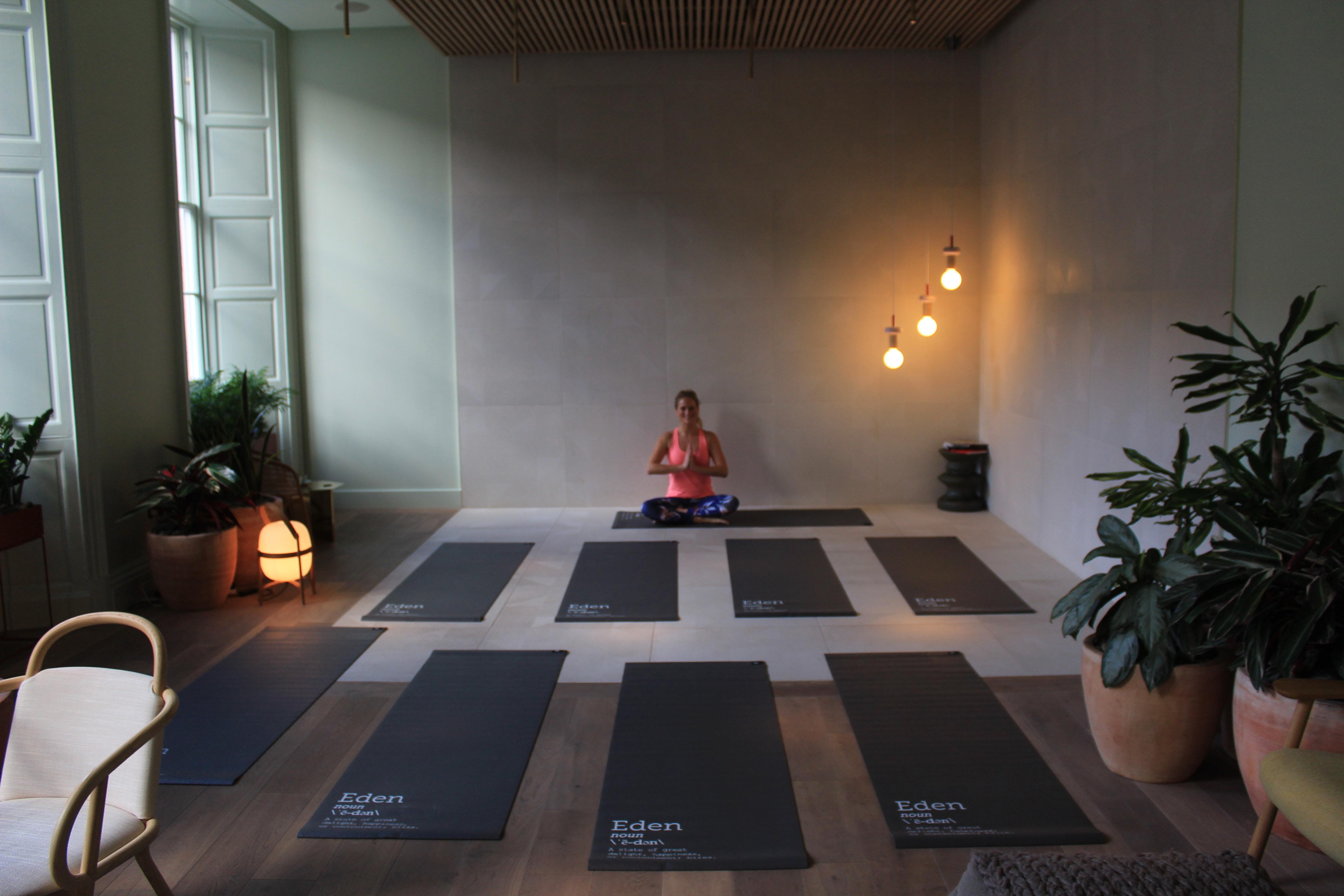 Yoga Class at Eden Locke