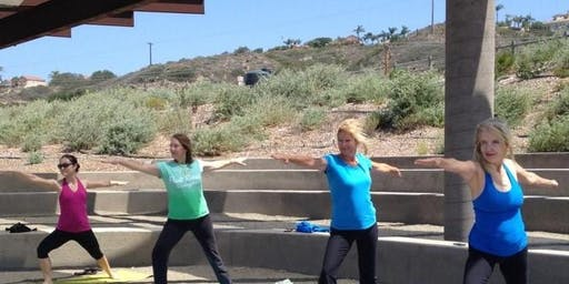 Yoga at the San Dieguito Lagoon