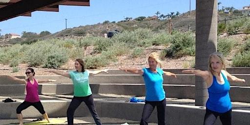 Yoga at the San Dieguito Lagoon